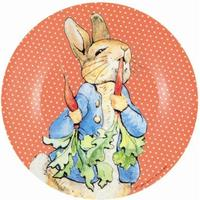 Children´s lunch plate Peter Rabbit, red