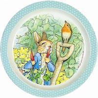Children´s plate Peter Rabbit, mint