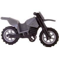 Lego mc motorcykel indiana jones grå