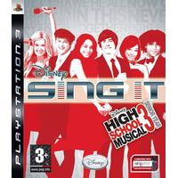 Disney Sing It: High School Musical 3: Senior Year - Playstation 3 (brugt)