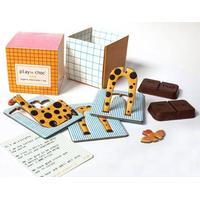PLAYin CHOC Økologisk Chokolade Med Miljøvenlig Legetøj Til Børn
