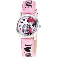 Disney Minnie Mouse Stål Quartz Pige ur fra AM:PM, DP140-K270