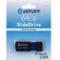 eSTUFF 64GB USB 2.0 64GB USB 2.0 Sort, Blå USB-nøgle