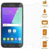 Samsung Galaxy J3 (2017) - Hærdet panserglas 0,3mm. (Arc Edge)