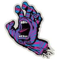 Santa Cruz Screaming Party Hand Individual Sticker