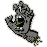 Santa Cruz Classic Screaming Hand Individual Sticker