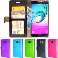 Samsung galaxy a3 2016 plånboksfodral id ficka + skärmskydd