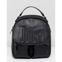 Juicy Couture Juicy By Juicy Couture Oversized Logo Adjustable Backpack Crossbody Bag