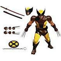Mezco Toys Mezco ToysAFGMEZ004 Marvel Wolverine Figure, Yellow/Brown