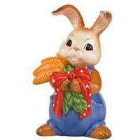 Goebel Easter Bunny A Lot of Carrots for You Figur