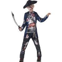 Rimelig rådden pirat kostume