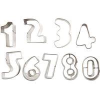 Stansformar/kakformar, stl. 30x27 mm, 1 set