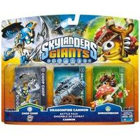 Skylanders Giants - Battlepack 1 (Chop Chop, Cannon Piece, Shroomboom)