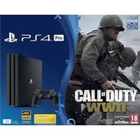 Sony Interactive Entertainment Playstation 4 Pro 1TB Console & Call of Duty WWII