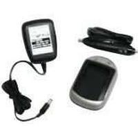 MicroBattery AC+DC Combo Charger - Batteriladdare + växelströmsadapter + bilströmsadapter - för Samsung SLB-0937