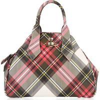 VIVIENNE WESTWOOD ACCESSORIES Medium Checked Derby Bag - Multi -