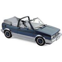"""Norev 188404 VW Golf Cabriolet """"Bel Air"""" blau metallic 1992 Maßstab 1:18"""