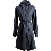 Rains Curve Raincoat Blue