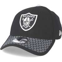 New Era Keps Oakland Raiders Sideline 39Thirty Black Flexfit - New Era