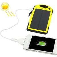 Solcellsladdare 5000mah iphone / samsung galaxy / sony / htc /