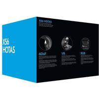 Logitech X56 H.O.T.A.S. - joystick og speeder - kabling - Joystick and throttle - PC