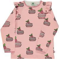 Smafolk T-shirt med kage og flæser