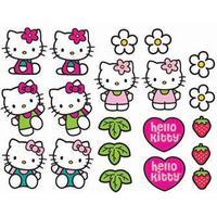 Wall sticker - Hello Kitty - 20 forskellige - 3D effekt
