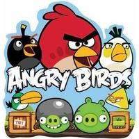 Wall sticker - Angry Birds - 25x24 cm - 3D effekt