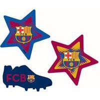 Wall sticker - FC Barcelona - 3 stk - 3D effekt