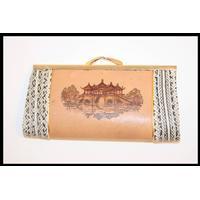 Vintage læder pung