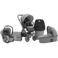 BabyStyle Oyster 2 City Grey + Carrycot + Car Seat + Accessories