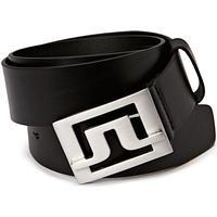 Slater 40 Pro Leather Accessories Belts Classic Belts Svart J. LINDEBERG GOLF
