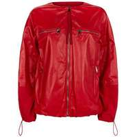 Moncler Leather Perle Jacket