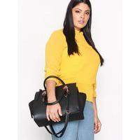 New Look Metallic Trim Tote Bag Handväskor Black