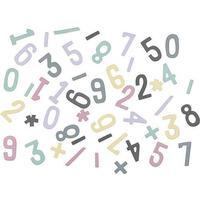 Sebra Magnetic Numbers 48 Pieces