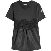 Moncler Drawstring Top with Lace