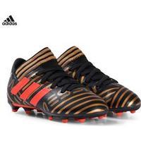 adidas Performance Gold Nemeziz Messi 17.3 Firm Ground Fotbollsskor Barnskor 28 (UK 10)