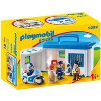 Playmobil Polisstation att ta Med 9382