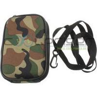 Universal Army Mini Digital Camera taske med halsrem