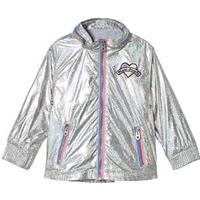 Little Marc Jacobs Iridescent Regnjacka Silver Regnjackor