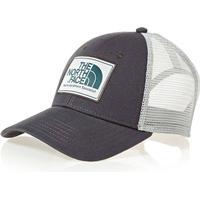 The North Face Mudder Trucker Cap Asphalt Grey/Heather Grey/Blue Coral (CGW2)