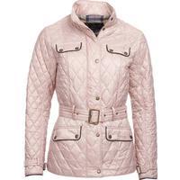 Barbour W's Kilbride Quilt Pale Pink