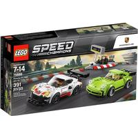 Lego Speed Champions Porsche 911 RSR & 911 Turbo 3.0 75888
