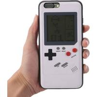 Tetris Game Console Appearance Unique Multi Phone Cases for iPhone 7 Plus/8 Plus - White
