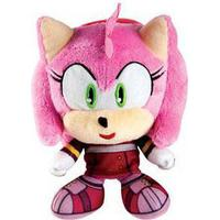 Tomy Sonic - Amy Big Headz Plush - 15 cm