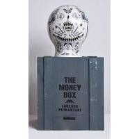 The money box porcelæn handmade serigraphy SELETTI