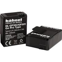 Hähnel Kamera-batteri Hähnel Erstatter original-batteri AHDBT-301, 3661086 GoPro Hero HD3, 3+ 3.7 V 1200 mAh HL-GP302/301