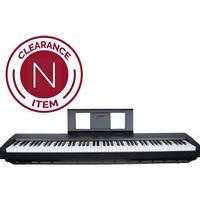 Yamaha P45 Compact P-Series Digital Piano in Black - B Stock