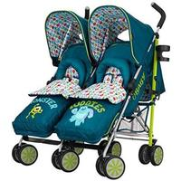 Obaby Disney Twin Stroller & Footmuffs - Monsters Inc