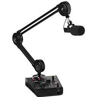Miktek ProCast USB Mic, Mixer, Broadcast Stand and Cables